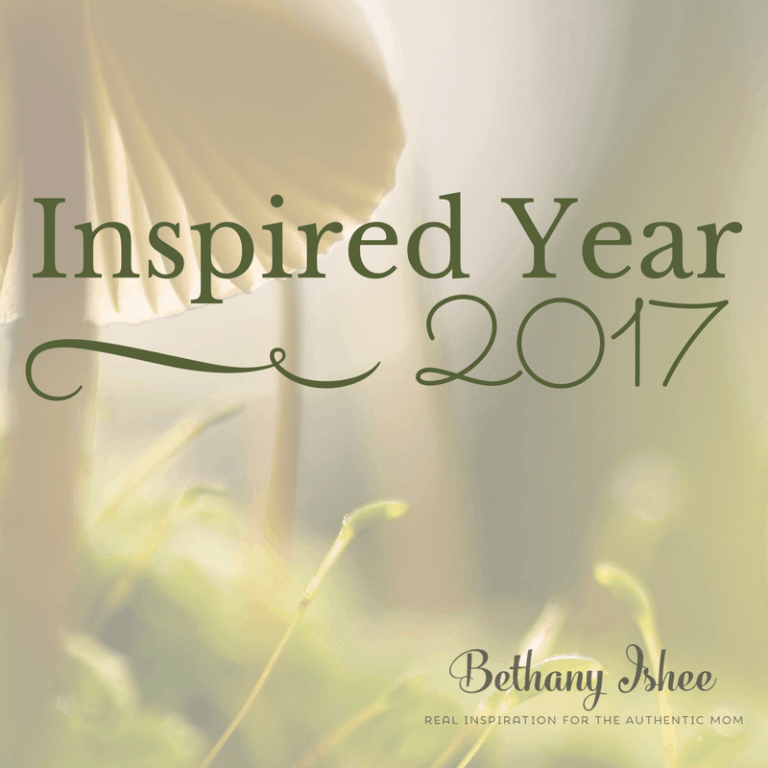 An Inspired Year: Beyond the Mundane in 2017
