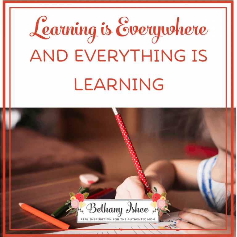 Learning is Everywhere and Everything is Learning