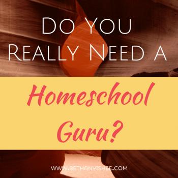 Do You Really Need a Homeschool Guru?