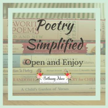 poetry simplified