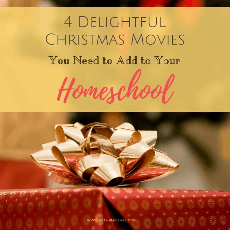 4 Delightful Christmas Movies You Need to Add to Your Homeschool