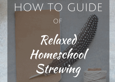 Relaxed Homeschool Strewing