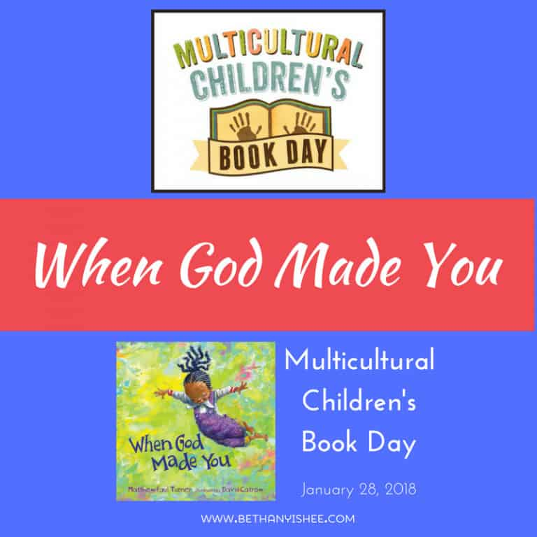 When God Made You: A Book Review for Multicultural Children's Book Day