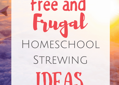 Free and Frugal Homeschool Strewing Ideas