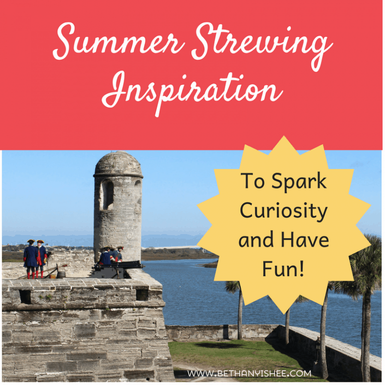 Summer Strewing Inspiration to Spark Curiosity and Have Fun