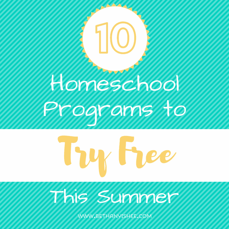 Free Homeschool Programs You Need to Try this Summer