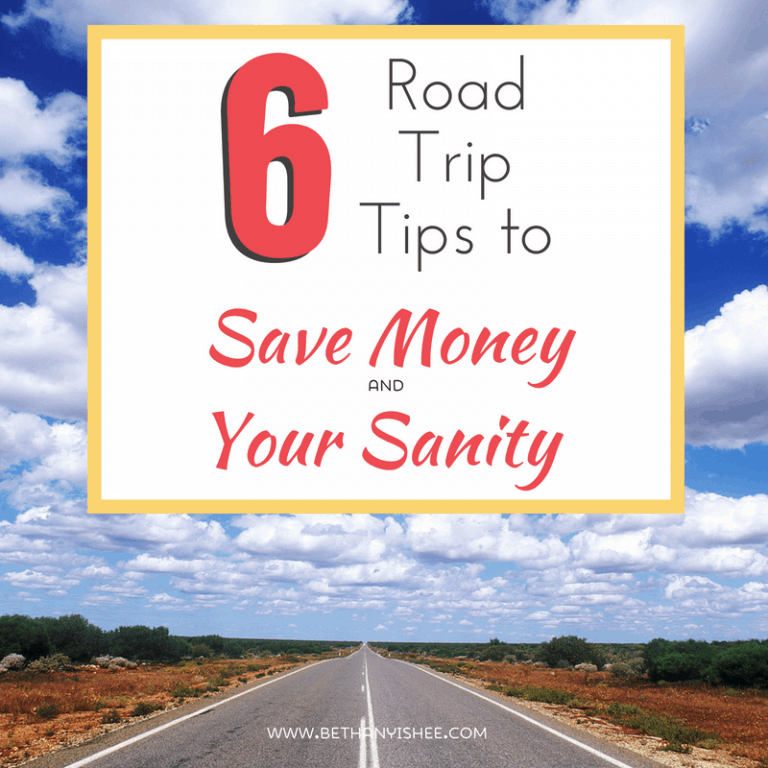 6 Road Trip Tips to Save Money and Your Sanity