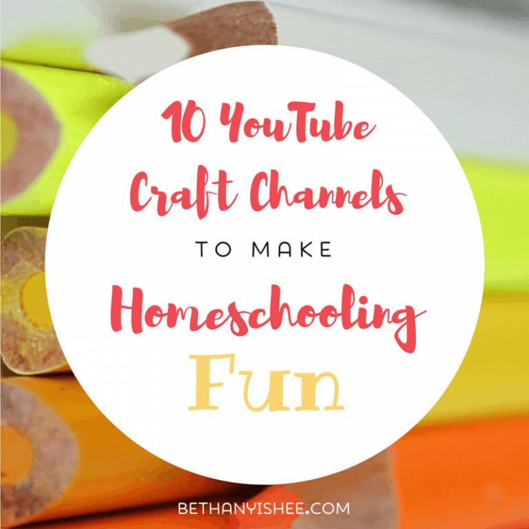 10 YouTube Craft Channels to Make Homeschooling Fun