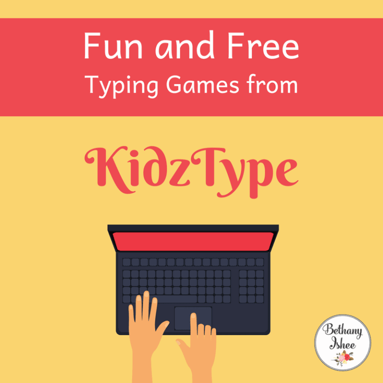 Fun and Free Typing Games from KidzType