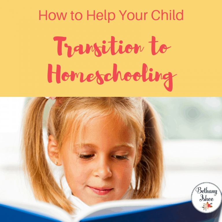 How to Help Your Child Make the Transition to Homeschooling