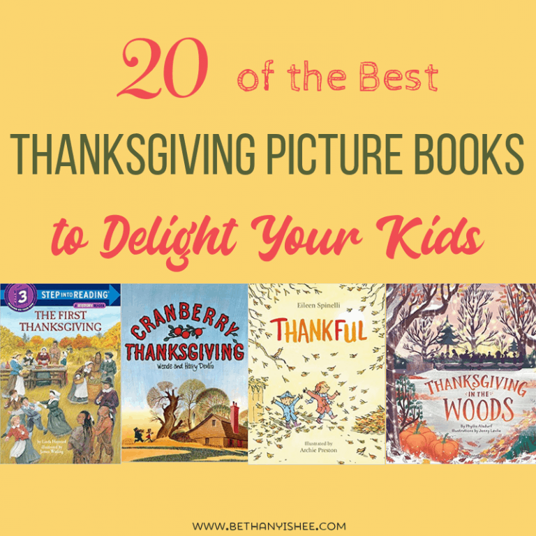 20 of the Best Thanksgiving Picture Books to Delight Your Kids