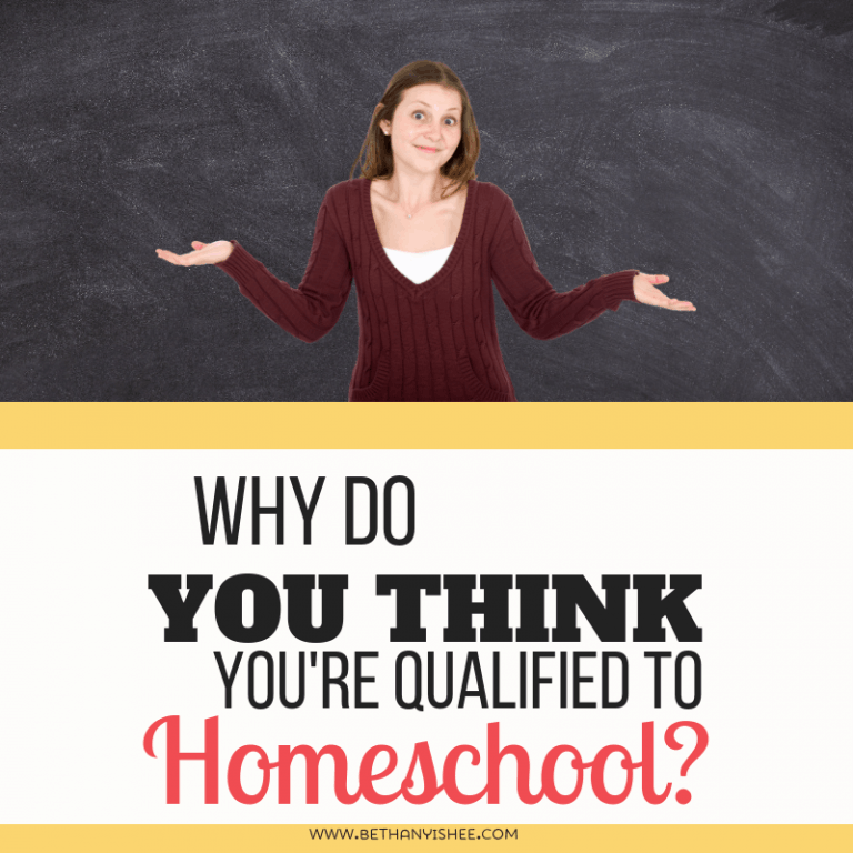 Why Do You Think You're Qualified to Homeschool?