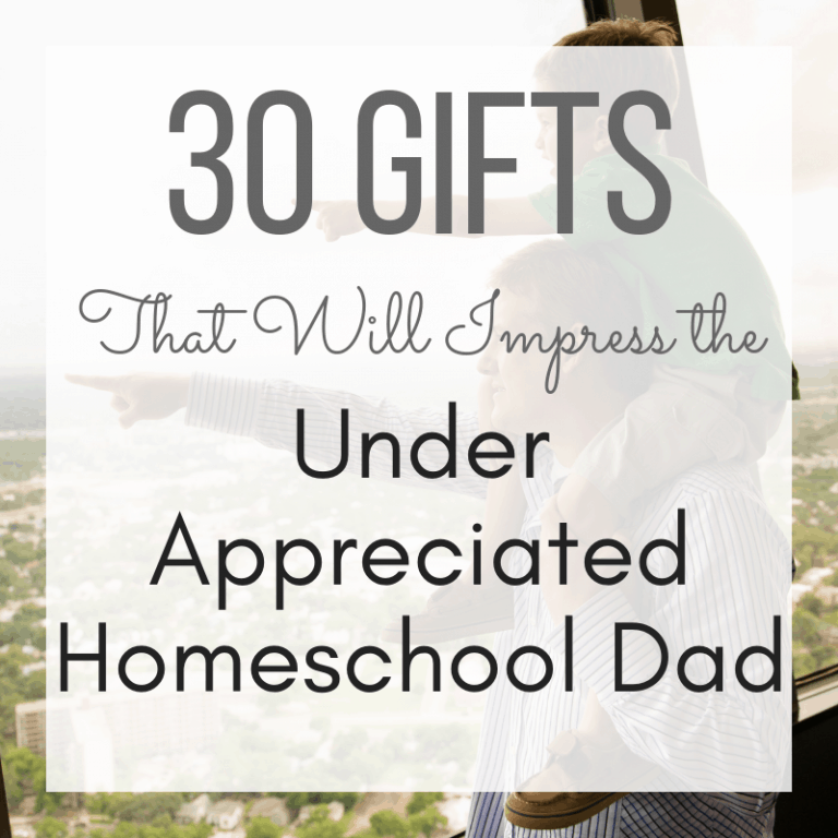 Top Gifts to Impress the Under-Appreciated Homeschool Dad