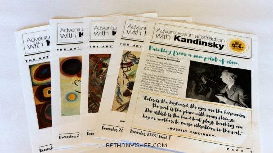 Art History for Kids Kandinsky