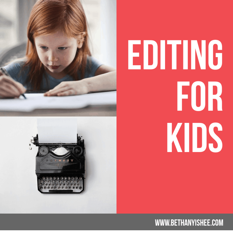 How to Introduce Editing for Kids Without Ugly Crying