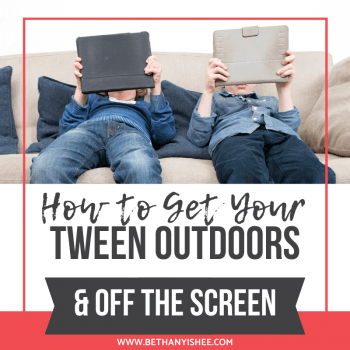 How to get your tween outdoors and off the screen