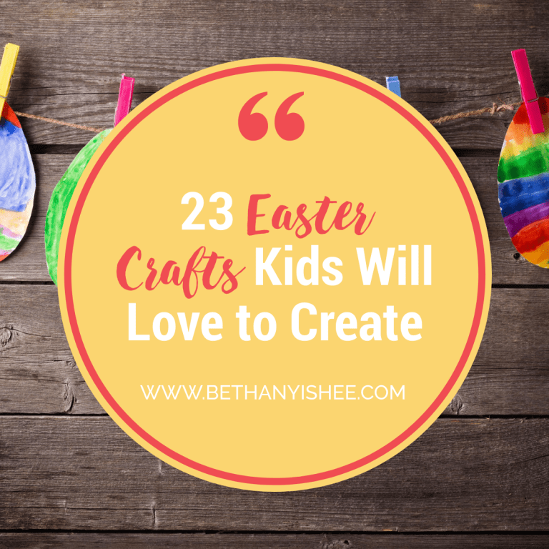23 Easter Crafts Kids Will Love to Create