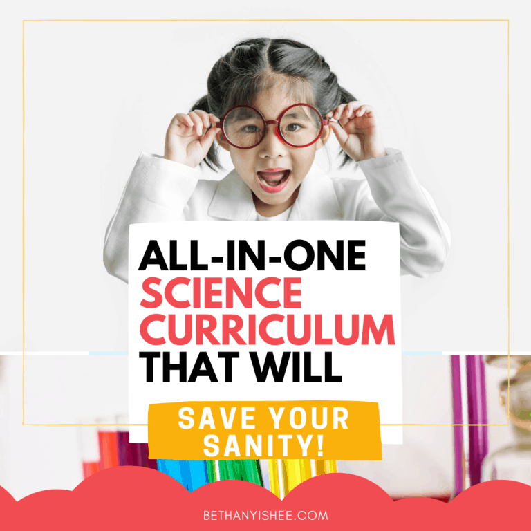 An All-In-One Science Curriculum That Will Save Your Sanity