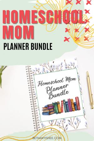 Homeschool Mom Planner Bundle