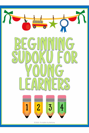 Easy Sudoku for Young Learners