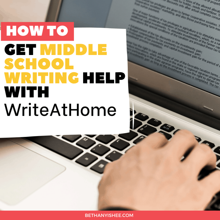 How to Get Middle School Writing Help with WriteAtHome