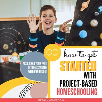 project based learning in the homeschool