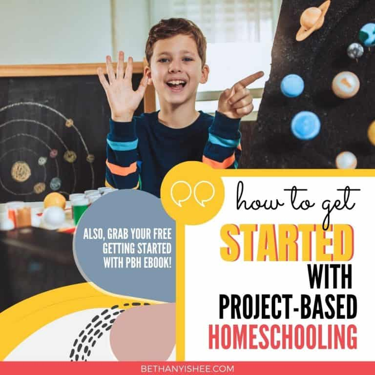 How to Get Started With Project-Based Homeschooling