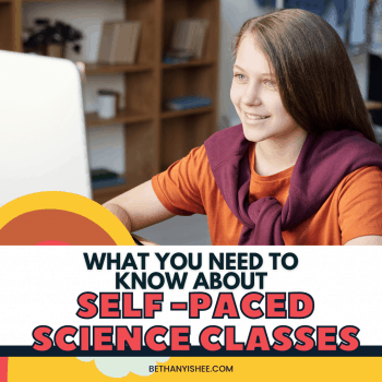 SELF PACED HOMESCHOOL SCIENCE CLASSES