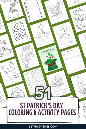 St. Patricks Day Printable for Kids