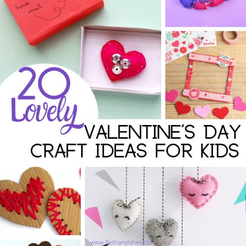 20 Lovely Valentine's Day Craft Ideas for Kids