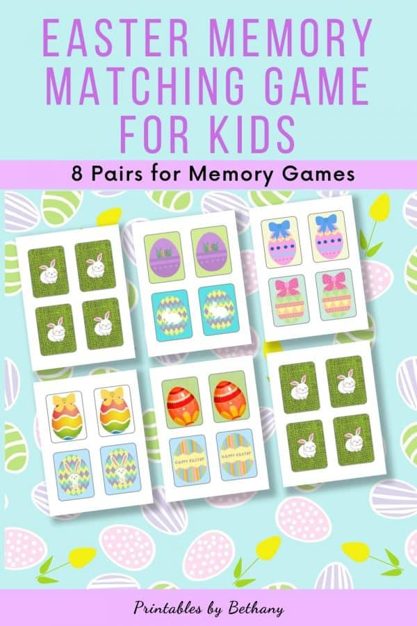 Easter Egg Memory Game