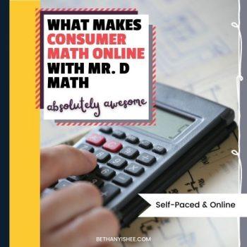 Mr. D Math Self-Paced Consumer Math