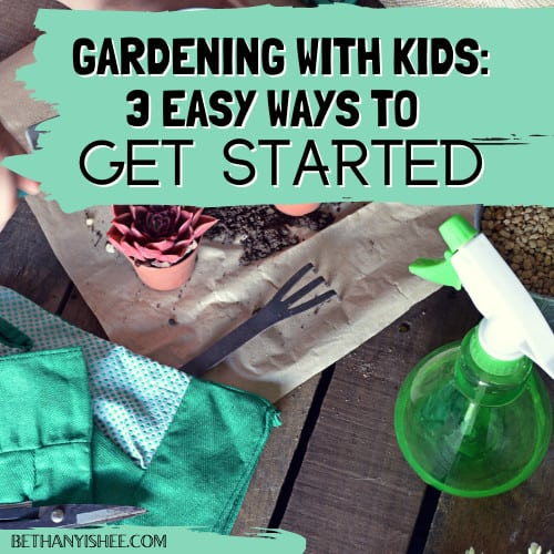 kid garden ideas