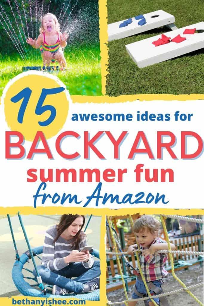 backyard summer fun toys