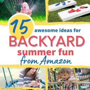 backyard summer fun toys