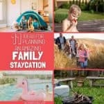 Homeschool Family Staycation