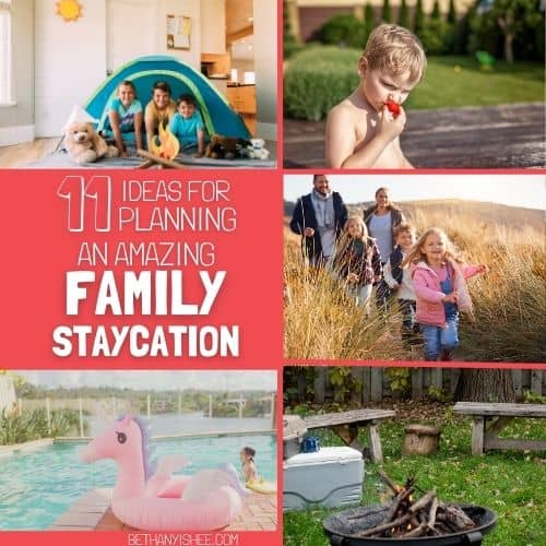 Homeschool Family Staycation