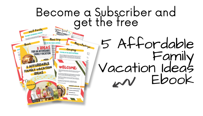 Family Vacation Ideas Ebook