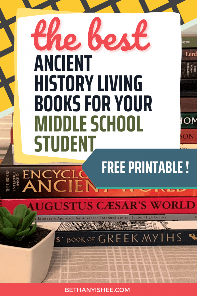The best ancient history living books for your middle school student. Living books middle school